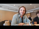 Aaron Stanford интервью 2 12 Обезьян  12 Monkeys  Interview  Comic Con