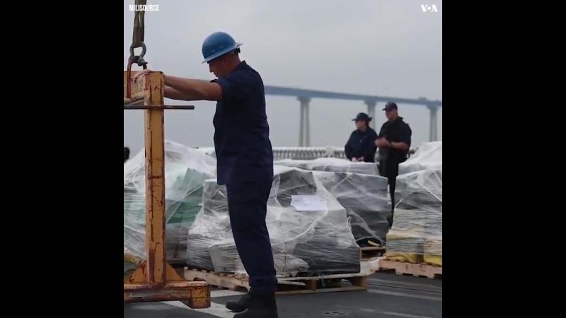 Береговая охрана США перехватила партию 18 тонн кокаина. 180 млрд. рублей