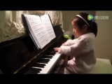 3-Летняя Девочка Села За Пианино китаянка а где 4 года пишут