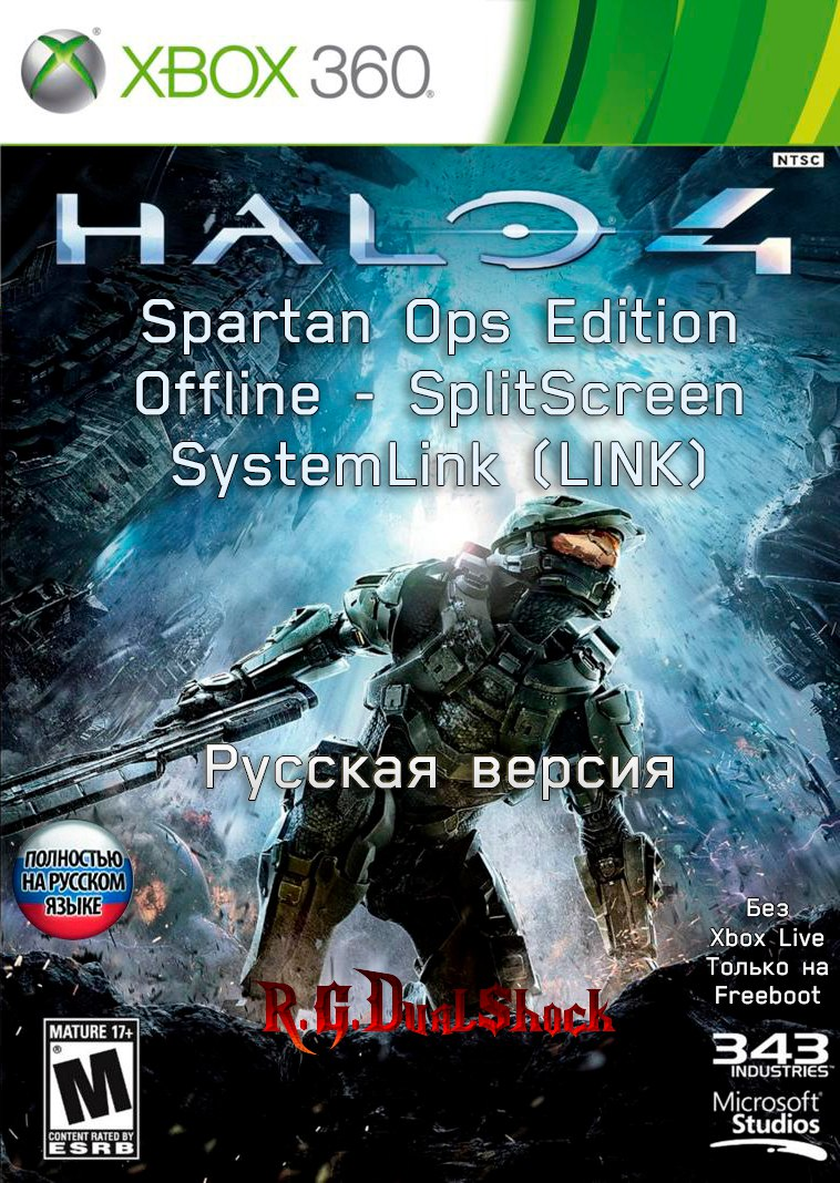 [FULL] Halo 4 Spartan Ops Edition [OFFLINE/LINK/SPLITSCREEN] [RUSSOUND] (Релиз от R.G.DShock)