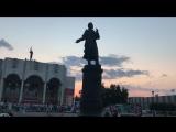 Летний вечер выходного дня на Драмтеатре Курск
