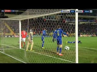 Ростов 0:1 Бавария. Гол Косты