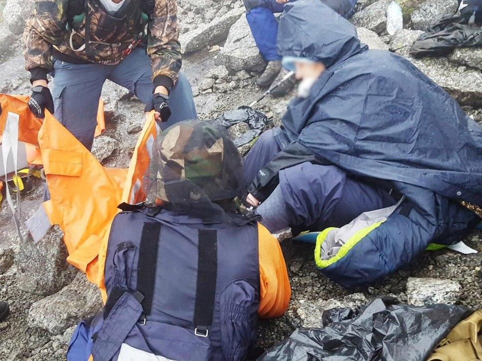 Туристка из Самары сломала ногу в Хибинах