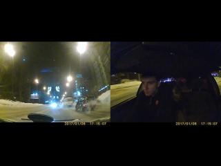 ДТП Комсомольский - Герцена, смотреть с середины Видео