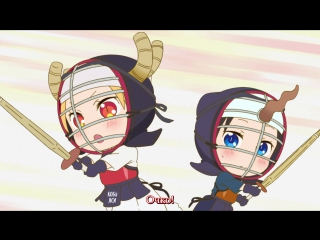 Kobayashi-san Chi no Maid Dragon / Cпешл #5 русские субтитры Sa4ko aka Kiyoso