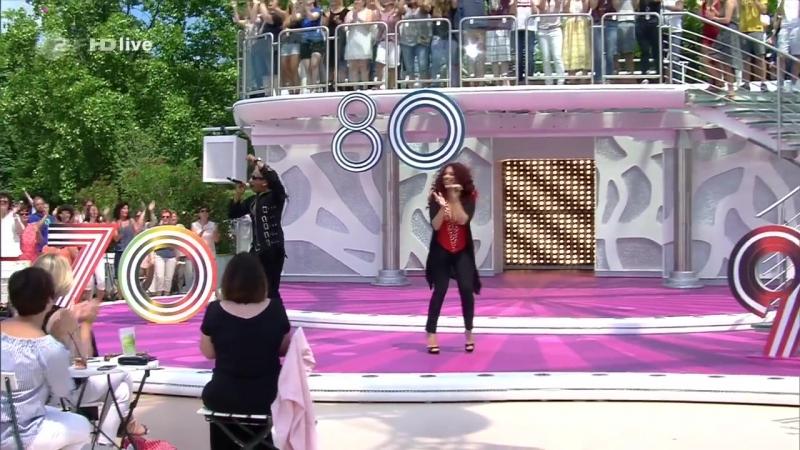 Natasha Wright (La Bouche) - Be My Lover (ZDF-Fernsehgarten - 2017-06-18)
