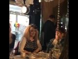 Алла Пугачёва и Максим Галкин на дне рождения Олеси Судзиловской (20.05.2017)