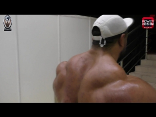 Roelly Winklaar Backstage 2016 Amateur Olympia Moscow