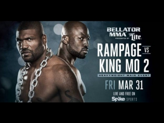 RAMPAGE VS KING MO 2 PROMO