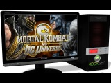 XENIA Xbox 360 Emulator - Mortal Kombat vs. DC Universe (2008). Ingame. OpenGL. Test #7