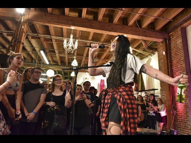 Adore Delano - I Cant Love You (LIVE) PEG Store Event
