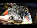 Запуск электростартера мотора В50М от аккумулятора 3Ач 12В