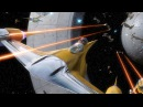 Star Wars (Space Battle over Naboo) HD