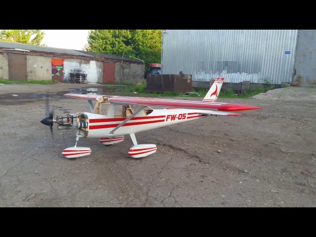 Faster Wind - Cessna 152 научилась кататься.