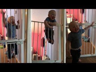 Houdini Baby Makes Great Escape From Gate