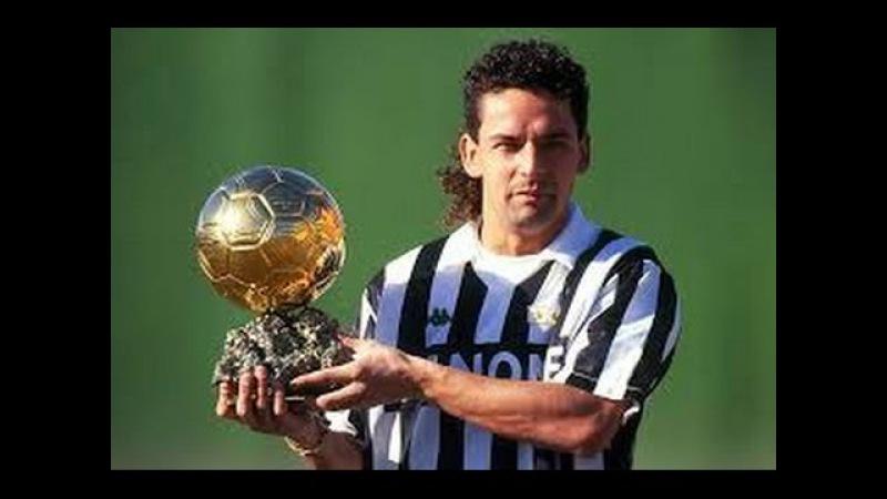 Roberto Baggio Il pallone d'oro 1993