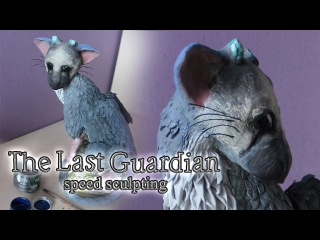 The Last Guardian | Trico | Speed Sculpting | Air Dry Polymer Clay