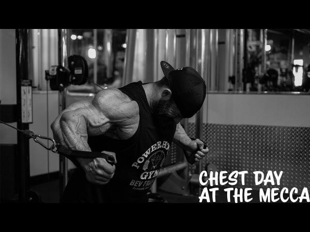 Chest Day- East Coast Mecca- Bev Francis Powerhouse gym