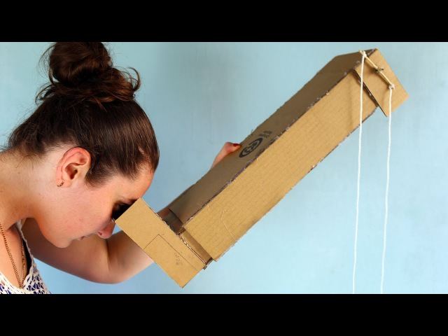How To Make Simple Periscope From Cardboard and Mirrors