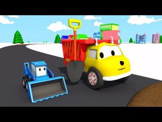Грязь на дороге: учим цвета вместе с грузовичком Игорем | Развивающий мультик дл ...