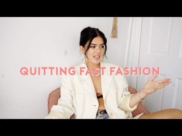 Why I Cut Out Fast Fashion