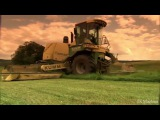 Удивительная сельхоз техника. Косилка Krone BiG M2.