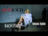 Фотосессия Анжелики Агурбаш для журнала BONJOUR - Backstage