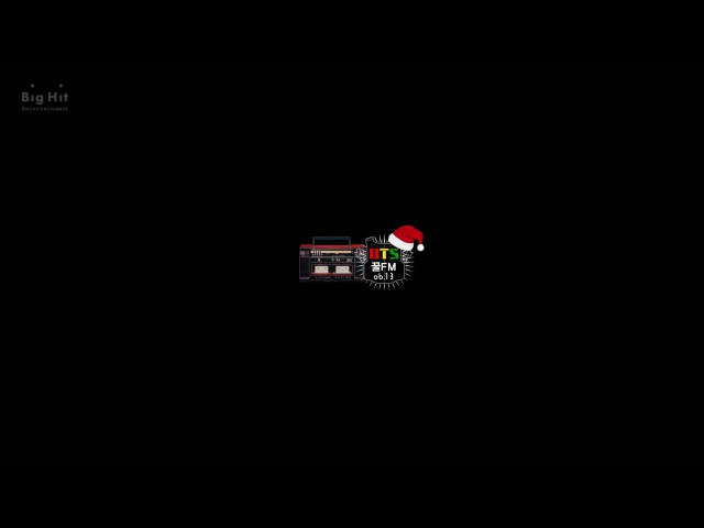 [BTS 꿀 FM 06.13] Christmas 2014 special 'Voice Radio' (Eng sub.)