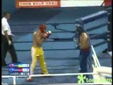 100904 Kickboxing Men's 81 kg Gold medal fight, Prykhodko (UKR) vs. Richardsen (NOR)