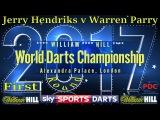 2017 William Hill World Darts Championship Jerry Hendriks v Warren Parry  Qualification Round