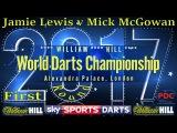 2017 William Hill World Darts Championship Jamie Lewis v Mick McGowan First Round