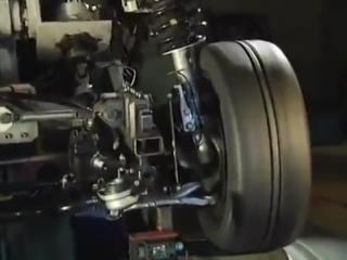Как работает подвеска авто, красивое видео