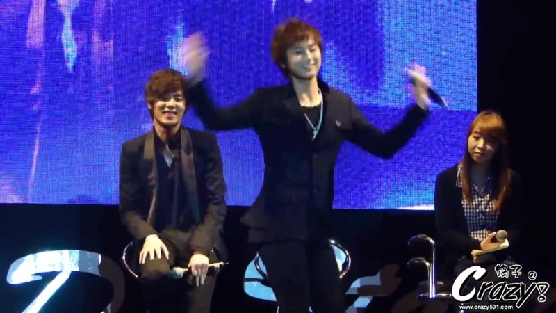 20101211 Young Saeng Gee Dance Story in Thailand [Crazy501]