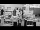 Supermarkt-Szene