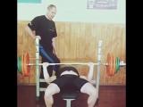 Vlad Starenky. Bench press 140 kg