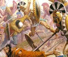 Бой греков и персов при Марафоне