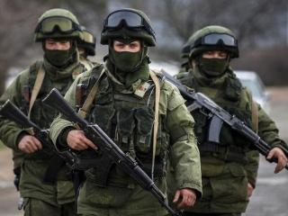 Вежливые люди в Крыму (2014). Красивая работа!