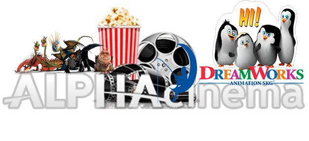 Мультфильмы DreamWorks на ALPHAcinema