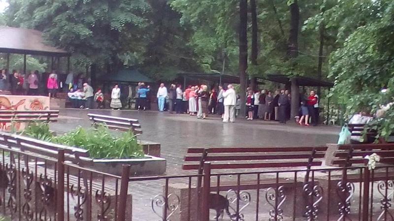 Танці у Гідропарку))
