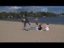 Insane Blind Guy Leaf Blower Prank ♦ Girls Top Blows Off
