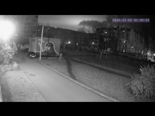 В Петербурге вандал испортил портрет Моторолы
