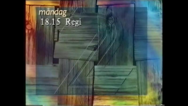 Анонс, диктор, программа передач и конец эфира (TV2 [Швеция], 02.01.1995)
