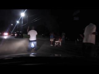 Поездка по ночному гетто Детройта