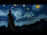 Турецкий художник Garip Ay рисует на воде картины Ван Гога и это настоящая магия