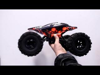 ТЕСТ Краулера BSD Racing Big Rock BT1003