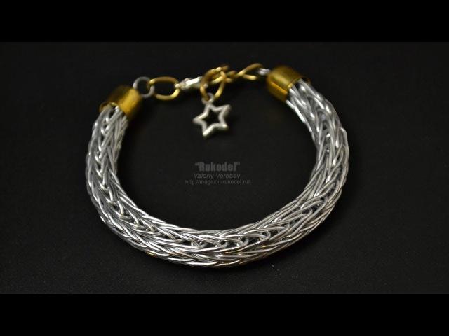 Vikinq Knit Bracelet. Браслет Викинг