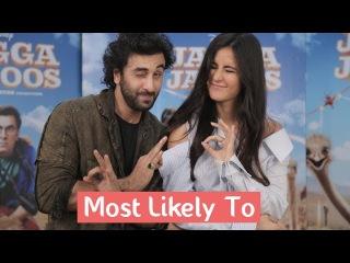 Most Likely To With Ranbir Kapoor & Katrina Kaif | Jagga Jasoos