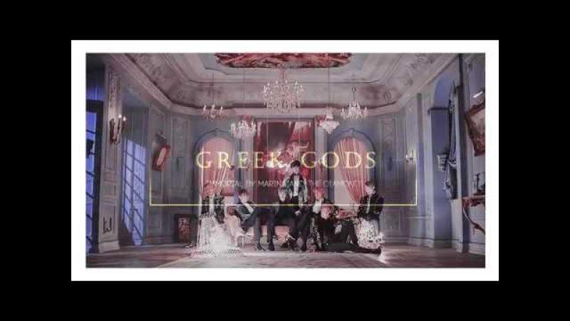 Bts; greek gods!au