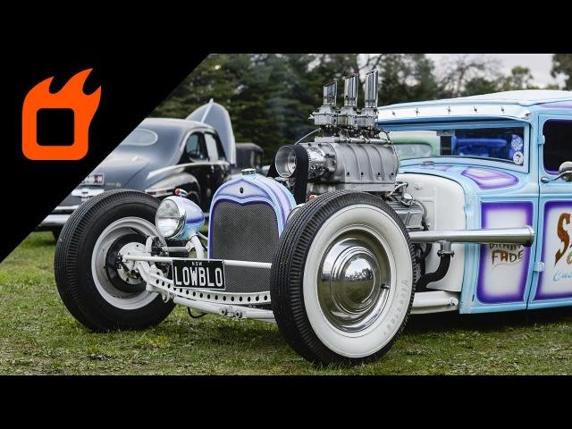 BRAIN FADE | 1930 Model A Tudor Hot Rod | The Boogaloo Invitational 2017
