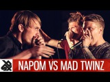 NAPOM vs MAD TWINZ Fantasy Battle World Beatbox Camp